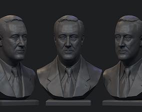 Franklin Delano Roosevelt 3D print model