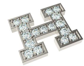 3D print model Letter H