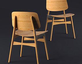Fredericia Soborg Chair 3D model
