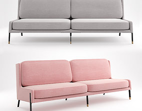 Stellar Works - Blink Sofa Three Seater 3D model