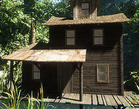 3D model game-ready max House