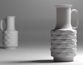 3D Vintage German Op Art Vase - Winterling