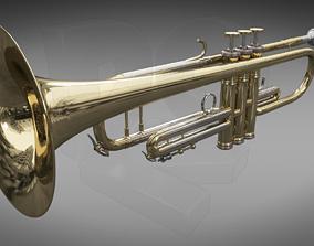 3D Trumpet-Cornet B flat
