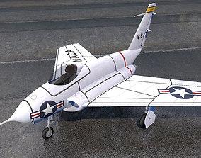 Northrop X-4 Bantam 3D