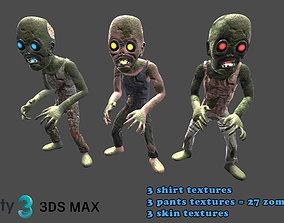 3D model Zombies kit