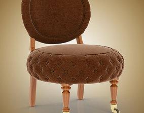 Barrio Puff Chair 3D
