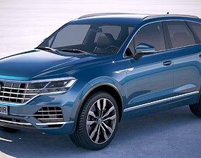 3D model Volkswagen Touareg 2019