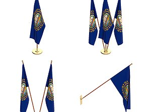 cycles 3D New Hampshire Flag Pack