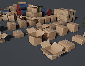 Props for the storage house Set 1 UE4 3D asset