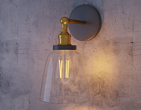 3D Classic Sconce Lamp