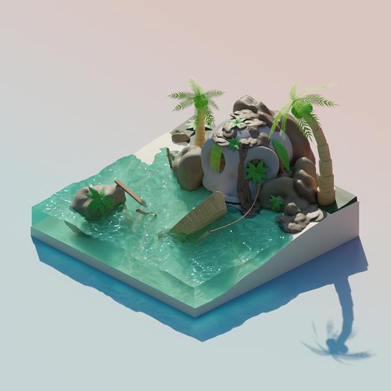 Tropic skull island