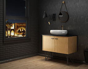 3D Luxury bathroom 0135