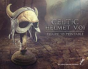3D print model Celtic helmet01