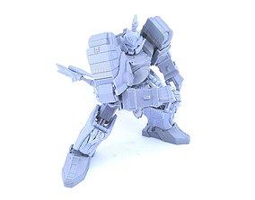 3D Printable Lightning Samurai Not Thunder Megazord