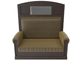3D model Antique sofa A