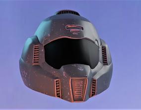 3D model Space Marine Helmet