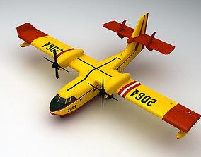 Canadair CL-415 3D asset