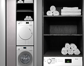 Miele washing machines 3D