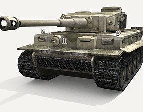 Panzer VI Tiger German Heavy Tank 3D model