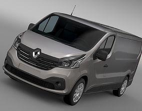 Renault Trafic Van L2H1 2017 3D model