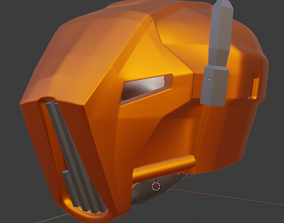 HK 47 ASSASSIN DROID HEAD-HELMET 3D printable model