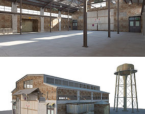 3D Warehouse Old interior and exterior