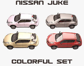 Nissan Juke Colorful Set 3D model