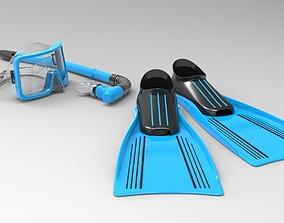 3D print model Snorkel Set