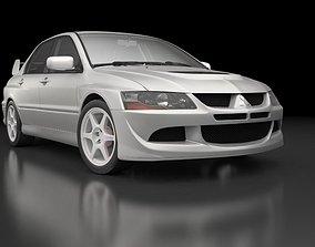 3D Mitsubishi Lancer Evolution 8