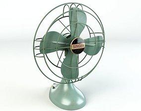 3D model Fan Singer Fan