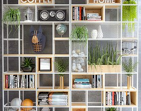 Display shelf BookShelf 3D model