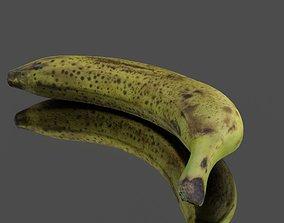 Banana 3D model realtime