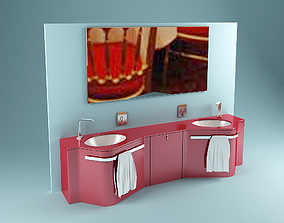 Tuga Washstand 3D