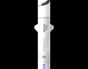 3D New Glenn rocket