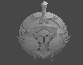 3D printable model World of Warcraft- Warrior icon
