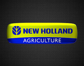 3D model new holland logo