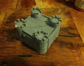 3D printable model Castle Jewelry Box