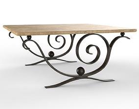 Coffee Table Aegean furniture 3D