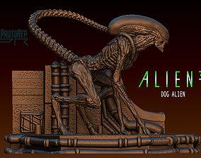 3D model Alien 3 Dog alien