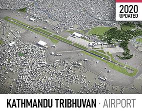 Tribhuvan International Airport - KTM 3D model
