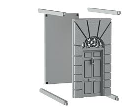 Door bookend 3D print model