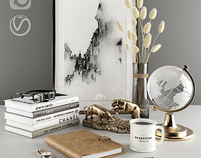 3D model Decorative set for the desktop