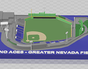 3D print model Reno Aces - Greater Nevada Field