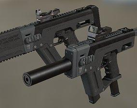 SRU-PDW-K Pistol Carbine Kit 3D model