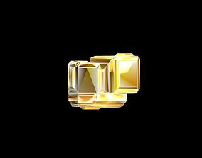 Amber 3D asset