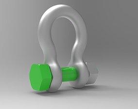 rhinoceros 3D Anchor Shackle