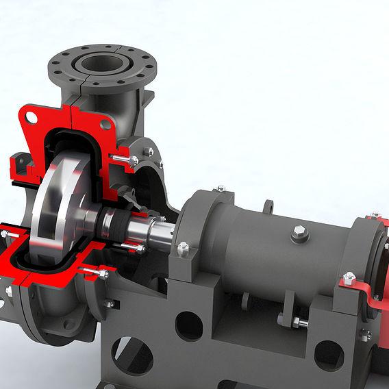 Pump centrifugal