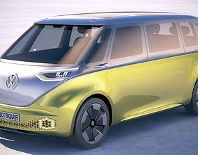 3D model Volkswagen ID Buzz 2020