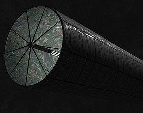 3D asset O Neill cylinder 1