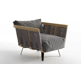 3D Welcome Cord Armchair